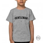 .gentleman. kids tshirt