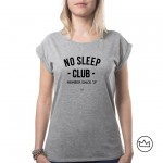 .No sleep Club. W tshirt
