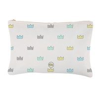 .mini crowns blue. bolsa