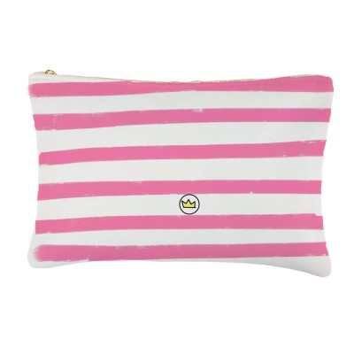 .summer stripes pink. bolsa