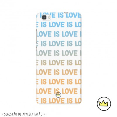 .love is love. gold blue marydoll