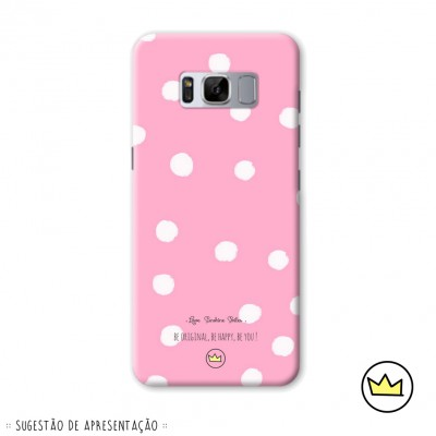 .dots, dots & dots white on pink. marydoll