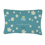 .Flowers to MOM blue. personalizada bolsa