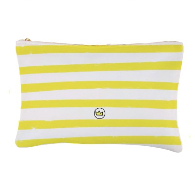 .summer stripes yellow. bolsa