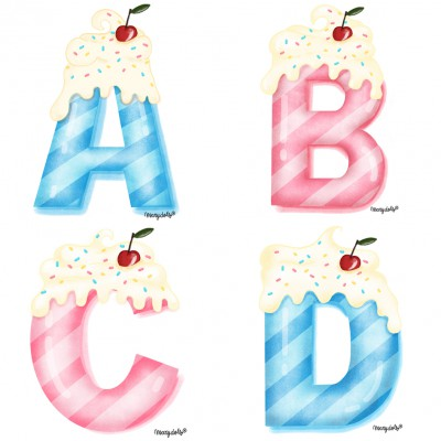 .Sweet ABC. poster