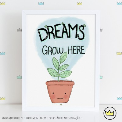 .Dream grow here. poster