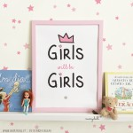 GIRLS will be GIRLS. poster