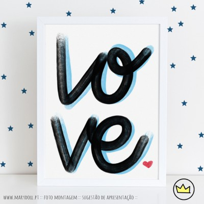 .LO VE. poster