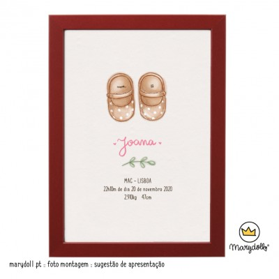 .Little Shoes. Girl poster