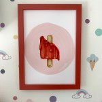 .melted icecream. poster