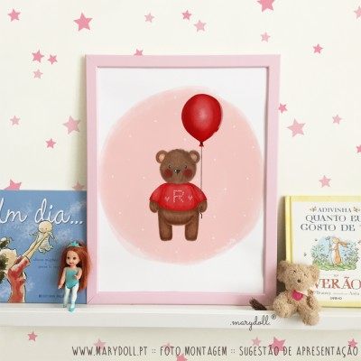 .Balloon Bear. poster