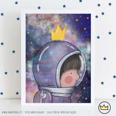 .Space boy. poster