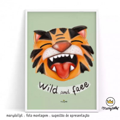 .Wild and Free. poster