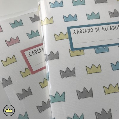 .mini crowns. cadernos