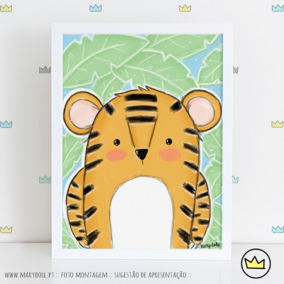 .Cute Tiger. poster