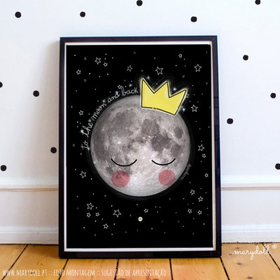 .to the moon. poster