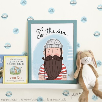 .to the sea. poster