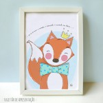.little fox. poster