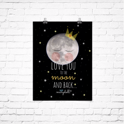 .miss moon. poster