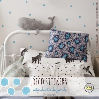 .dots, dots & dots blue. stickers