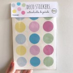 .bubble gum dots. stickers