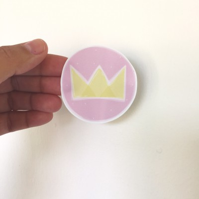 .crown princess. stickers