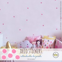 .dots, dots & dots pink. stickers