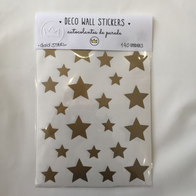 .gold stars. stickers