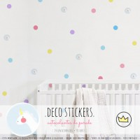 .unicorns and dots. stickers