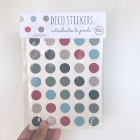 .classic boy dots. stickers