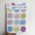 .crowns & dots. stickers