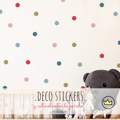 .cupcake dots. stickers