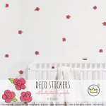 .little roses. stickers