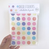 .lollipop dots. stickers