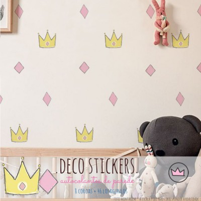 .more than a princess. stickers