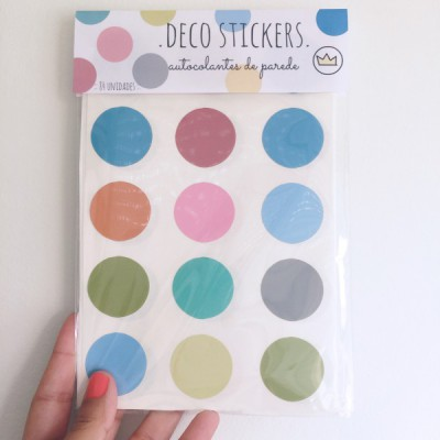 .color dots. stickers