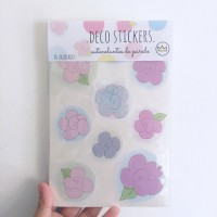 .flowers & dots. stickers