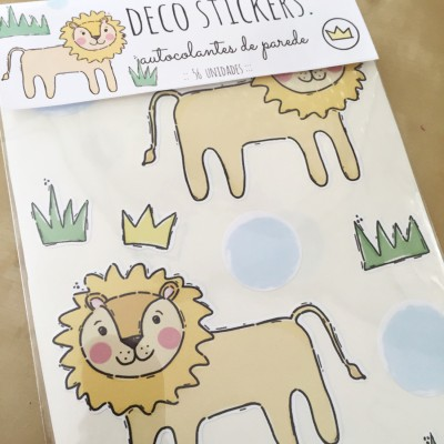.little lion. stickers