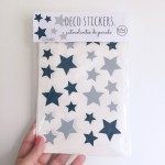 .stars night. stickers