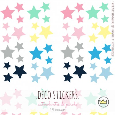 .candy stars. stickers