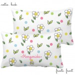 .flower power. travesseiro personalizado