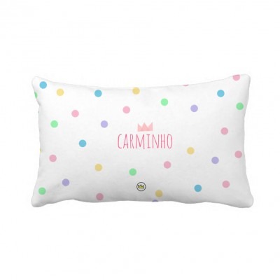 .icecream dots. travesseiro personalizado