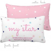 .my star pink. travesseiro
