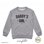 .daddy's girl. kids sweat