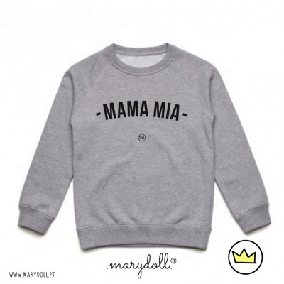 .mama mia. kids sweat