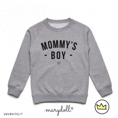 .mommy's boy. kids sweat