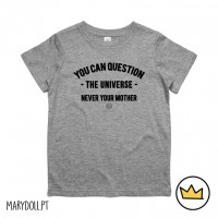 .Question the Universe. Kids tshirt