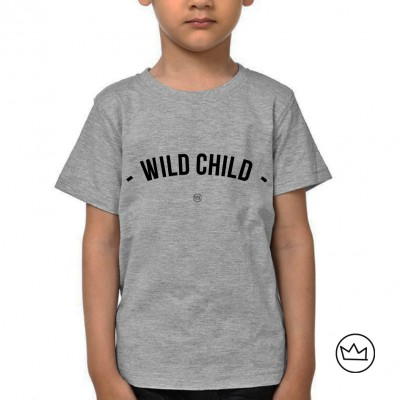 .wild child. kids tshirt