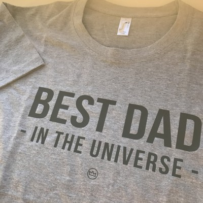 .best dad. tshirt