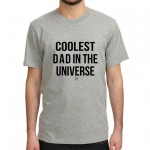.coolest dad. tshirt